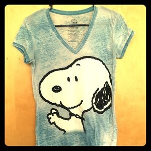Women's Peanuts Snoopy Graphic T-Shirt